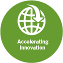 Accelerating innovation theme icon