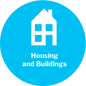 Housing and buildings theme icon