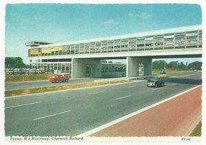 M6 Motorway postcard