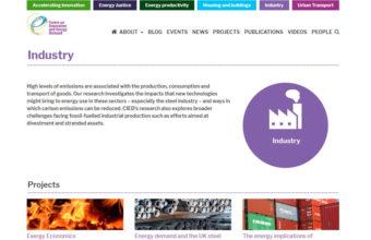 Screenshot of CIED website. Credit: CIED